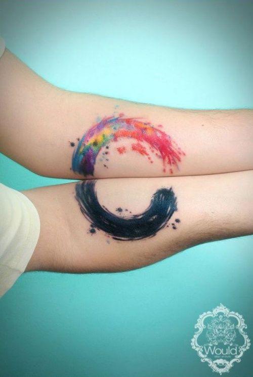 Парные татуировки для лучших друзей. Делать татуировки с лучшим другом это очень…