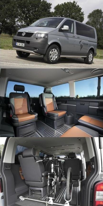 Hace poco comente en esta entrada la comercialización de la Caddy 4Motion, sobre esta base Volkswagen ha diseñado un modelo con mayor capacidad todo terreno denominada Caddy PanAmericana Study, pre…