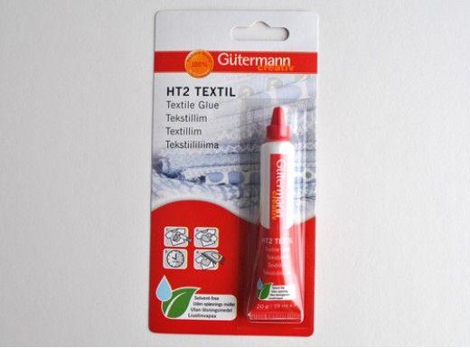 Gutermann HT2 Fabric to Metal glue