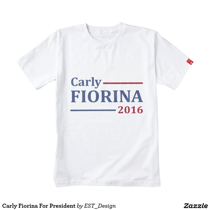 Carly Fiorina For President Zazzle HEART T-Shirt