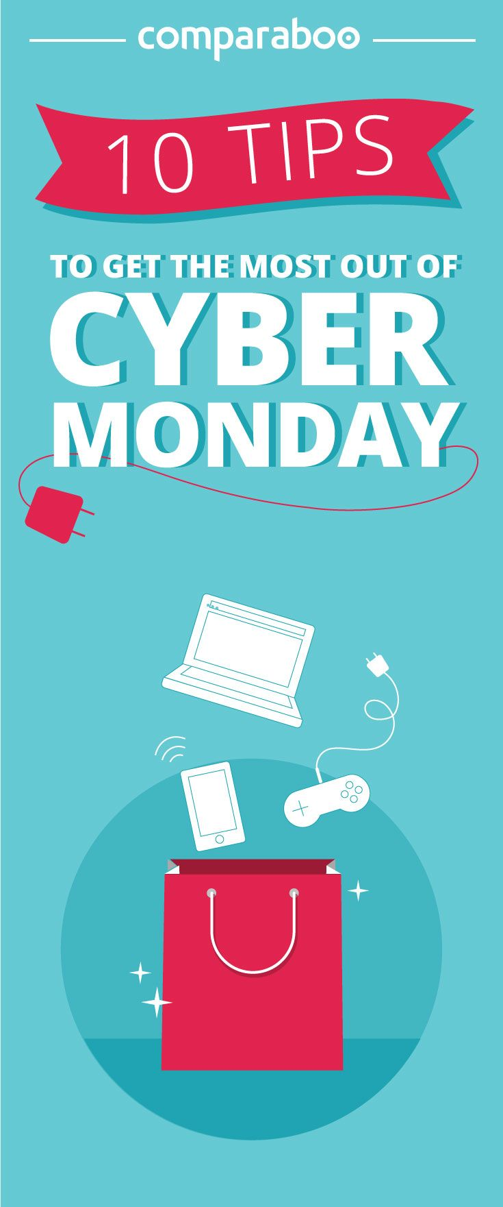 How to make the most out of your Black Friday/Cyber Monday shopping? 10 tips to get the most out of Cyber Monday! #CyberMonday