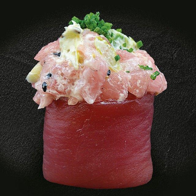 💥TORO GEISHA💥 De tartar de toro con mayonesa japonesa, cebolleta y sésamo 🎎 Eres celíaco? 🍣 ¿Sabías que tenemos Sushi Sin Gluten? ❌ 🌾 ¡Queremos que todos podáis disfrutar de nuestras delícias! 💻 haz tu pedido online. ¡Te lo llevamos a casa! #sushiencasa #hapomataro #hapo #sushi#singluten #mataró #mataro #cenashapo#sushitime #maresme #maresmegourmet#igersmaresme #igersmataro #argentona#cabrera
