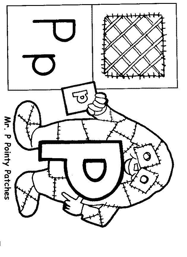 The letter people coloring pages murderthestout for Letter people coloring pages
