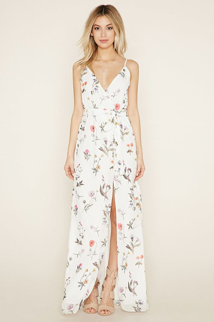 Oh My Love Floral Maxi Dress | Forever 21 - 2000153413  $95?! Is that a typo?