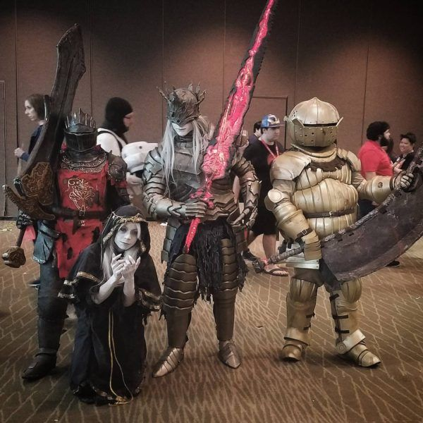 this �dark souls� group cosplay is ridiculously perfect
