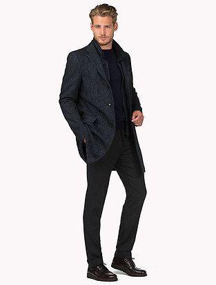 Herringbone Chase Coat