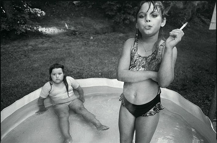 "Ever since I met Mary Ellen Mark she have always inspired me to get deeper into the human being. She also said to me ""As a photographer you have to be in control of the person that you`re portraying""."