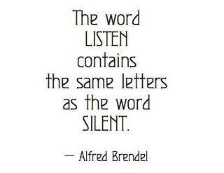 listen - silent
