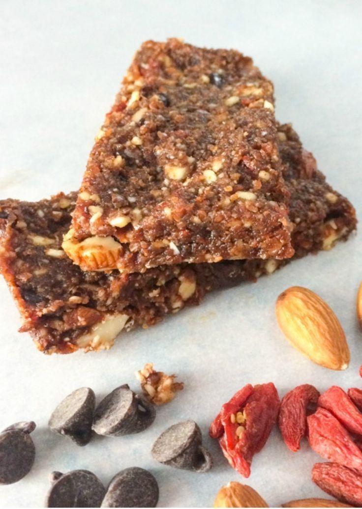 Barrette ai cereali dietetiche e naturali: alle bacche di Goji