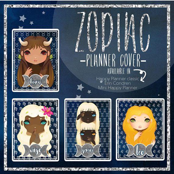 MINI Happy Planner Zodiac Cover