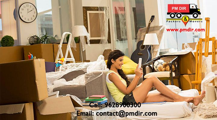 moving firm responsible for everything from arranging and packing, to unloading and reorganizing your goods.