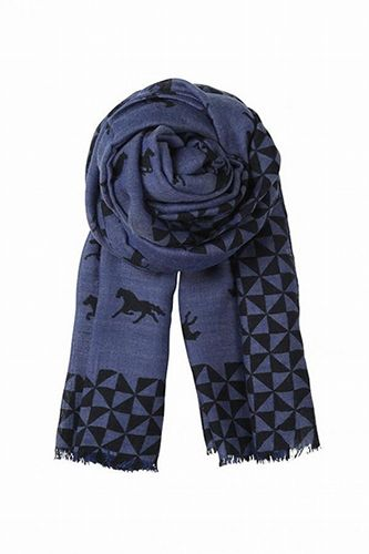 Wild Horse scarf, $90, available at Bloomsbury & Co.