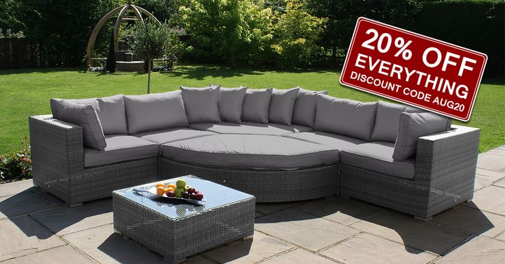 20% OFF EVERYTHING at http://www.WhiteStores.co.uk while stocks last! Sale ends 31st August 2015. #whitestores #gardenfurniture #bbq #sunlounger #daybed #sofa #alfresco #diningset #armchair #coffeetable #parasol #furniturecover #bbqcover #rattan #wood #metal #garden #patio #conservatory #furniture #outdoorliving #sale
