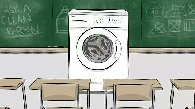 Here's Jolie Kerr from Deadspin, teaching everything you ever wanted to know about #laundry. http://t.co/qJWYqHGgmw