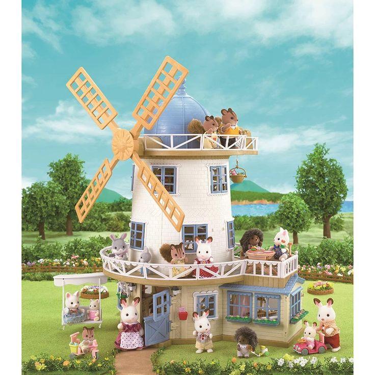 Sylvanian Families - Field View Mill - Sylvanian Families - Shop #EntropyWishList #PinToWin OMG so awesome