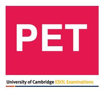 PET Exam vocabulary list (.pdf)