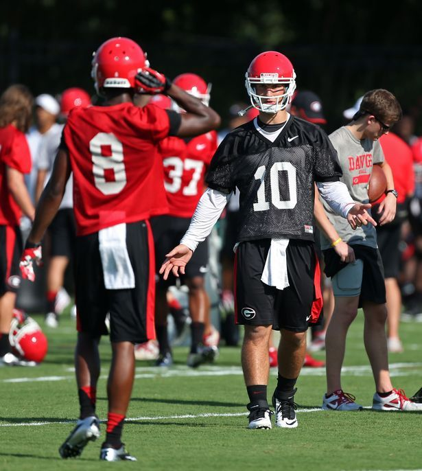 Photos: UGA's first day of practice | www.ajc.com