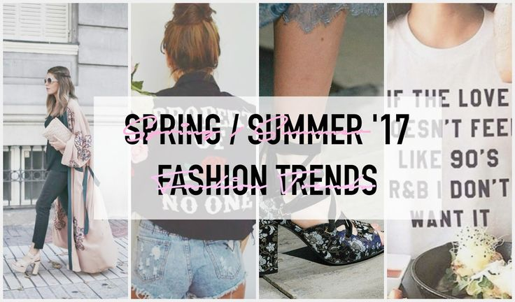 Life with Gabriela: Spring / summer '17 summer trends