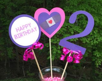 Doc McStuffins Birthday Party Decoration by LittleMichaels on Etsy
