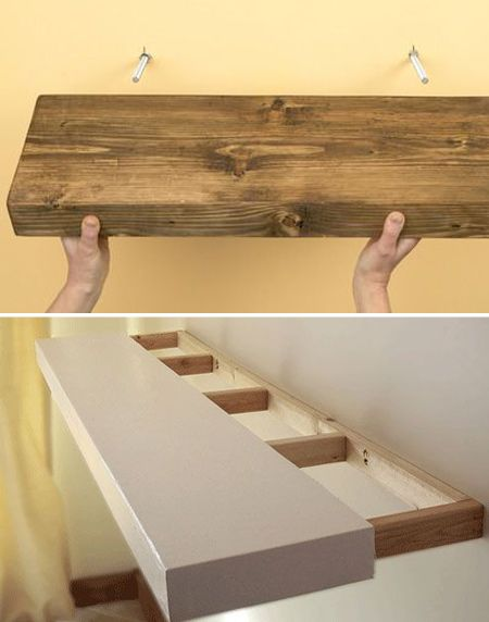 How to  shelf ideas that you can DIY