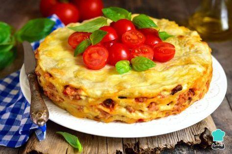 Receta de Lasaña mexicana con tortillas #RecetasGratis #RecetasMexicanas #ComidaMexicana #CocinaMexicana #Lasaña