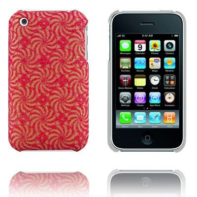 Sun Blomst (Rosa) iPhone Deksel for 3G/3GS