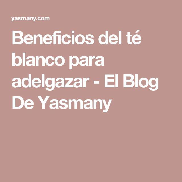 Beneficios del té blanco para adelgazar - El Blog De Yasmany