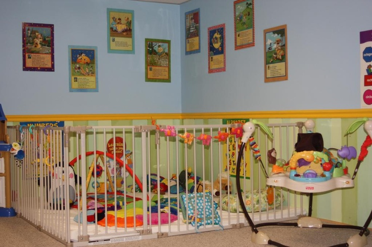 Classroom Design Preschool ~ Infant room idea homemanagement baby s