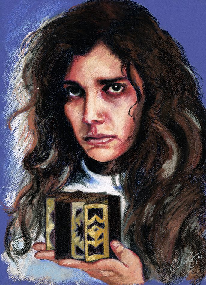 Kirsty Cotton – Hellraiser. Original Pastel Artwork 16 x 12 #Hellraiser #Horror