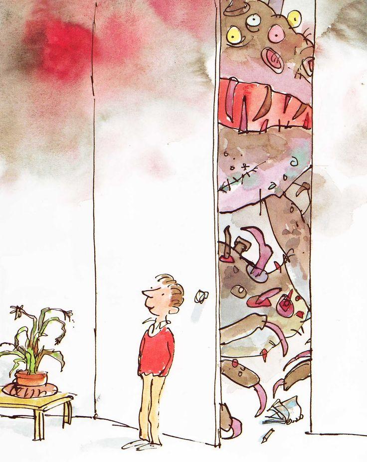 Vintage Kids' Books My Kid Loves: Monsters | Quentin  Blake