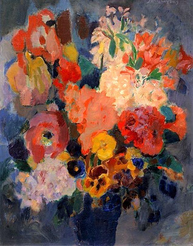 ❀ Blooming Brushwork ❀ - garden and still life flower paintings - Jan Sluijters | Bloemstilleven