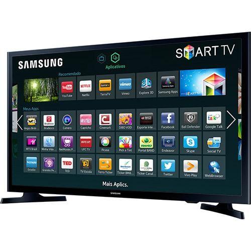 """PROMOÇÃO AMERICANAS - APROVEITE !!!   Smart TV LED 32"""" Samsung UN32J4300AGXZD HD com Conversor Digital 2 HDMI 1 USB Wi-Fi 120Hz R$ 1.139,05 em 1x no cartão americanas OU R$ 1.234,05 A VISTA OU AINDA 10x de R$ 129,90 s/ juros  CLIQUE AQUI http://compre.vc/v2/0945c92d"""