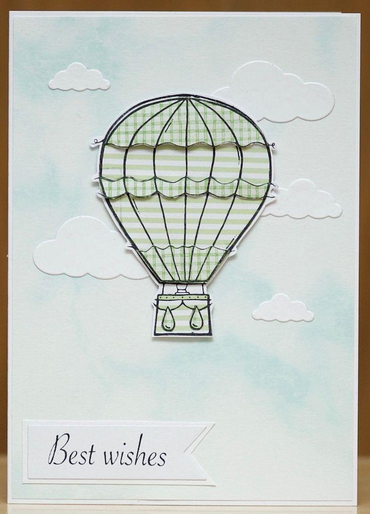 Woodware Hot Air Ballon , Paper pieced.