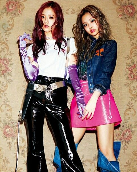 Jisoo&Jennie • Blackpink  Nylon Japan #JennSoo