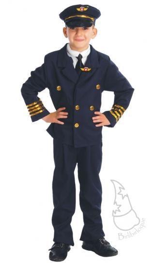 Disfraz de Piloto Infantil