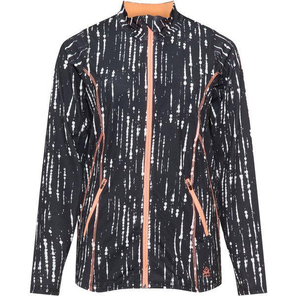 Zhenzi Black / White Plus Size Sports jacket ($60) ❤ liked on Polyvore featuring activewear, activewear jackets, black, plus size, sports activewear, zhenzi, plus size sportswear, plus size activewear and women's plus size activewear