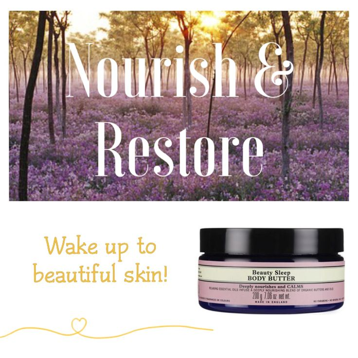 Intensely nourishes and calms. Wake up to deeply nourished and silky smooth skin with our Beauty Sleep Body Butter, combining organic butters and oils. With an aroma-therapeutic blend of essential oils to calm the mind and enhance a restful sleep, skin is left smelling dreamy and beautifully pampered.