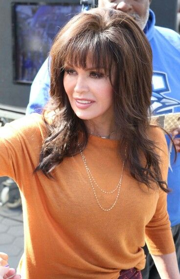 Marie Osmond at Universal Studios for Extra interview
