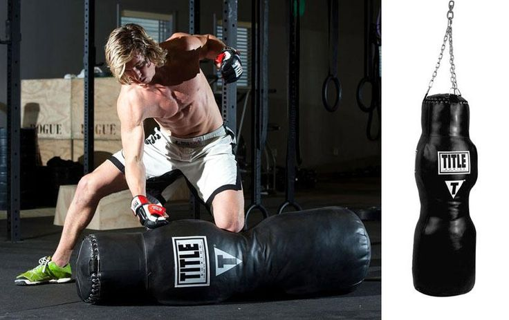 This heavy bag will to take your training to the next level. Combines the versatility of a professional grappling dummy with a life-like body target. Get yours here.
