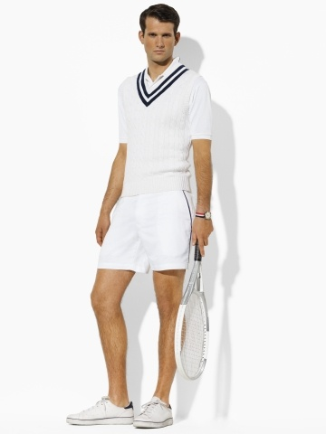 Browse our entire mens tennis clothing selection by type. We have the traditional tops and shorts every competitive tennis player needs, as well as the apparel that is extremely popular for training, such as jackets, pants and base layers.