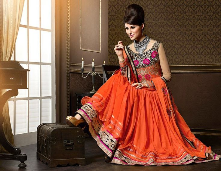 Latest Party Wear Stylish Frocks Trend In India 2018-2019