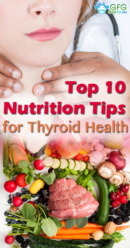 Top 10 Nutritional Tips to Support Underactive Thyroid Problems | https://www.grassfedgirl.com/top-10-nutritional-tips-support-underactive-thyroid-problems/
