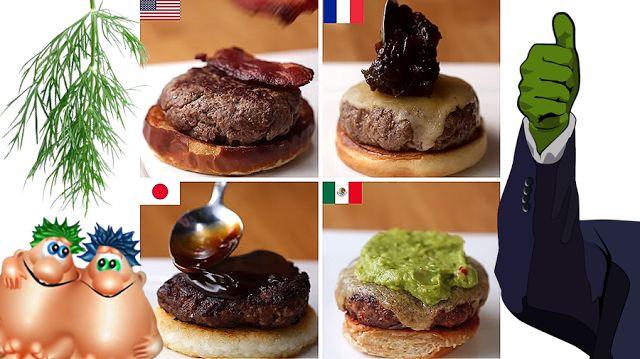 Все про мясо: Домашние бургеры