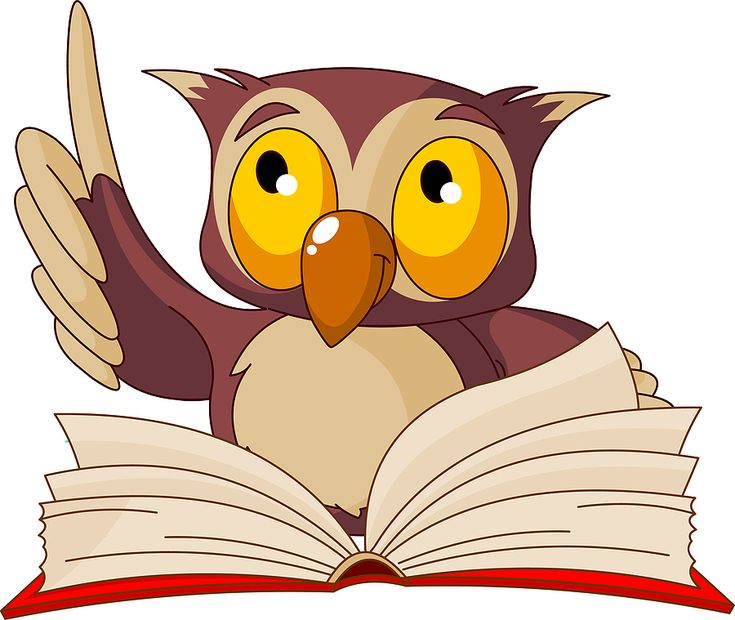 Photo About Old Wise Owl Reading Book