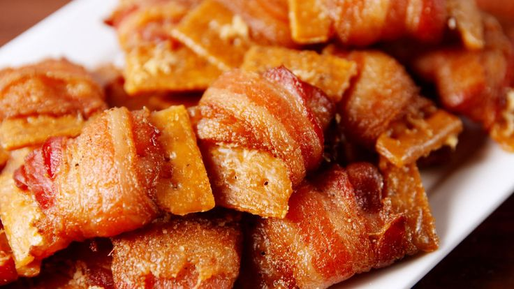 Bacon Crack Bites - Delish.com