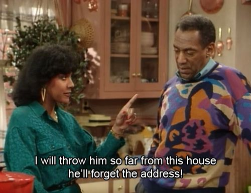 I would love to have the fast thinking and confidence of Claire Huxtable