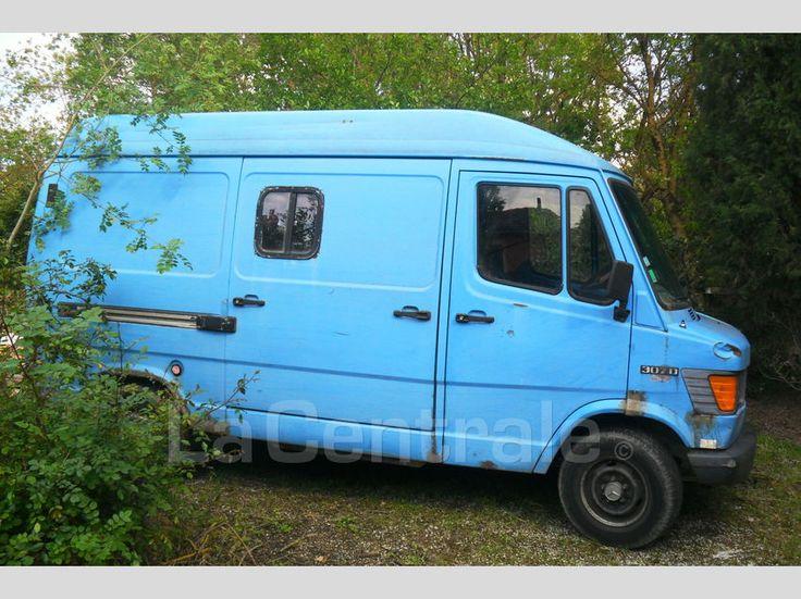 Utilitaire MERCEDES 307 D 1987 Diesel occasion - Aude 11