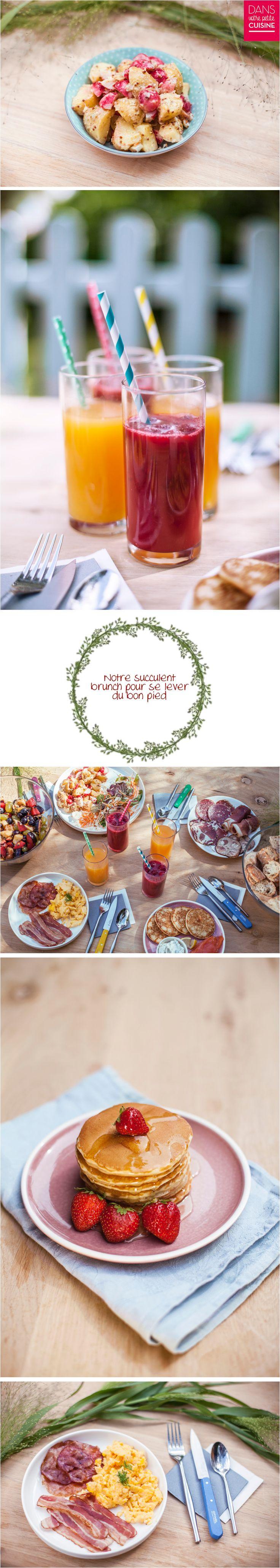 Brunch – brunch salé – brunch anglais – brunch américain – smoothie  -  traiteur – chef à domicile – coloré – sur-mesure – Ile de France