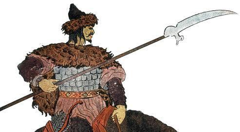 Attila (395-453), roi des Huns, redoutable guerrier et fin stratège.