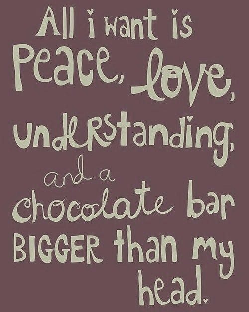 I Love You More Than Quotes: 112 Best Images About Chocolate Humor On Pinterest